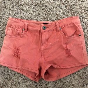 Burnt orange shorts! Barely worn!